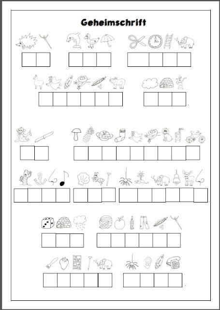 geheimschrift grundschule mathe