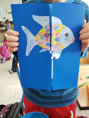 Lapbook Der Regenbogenfisch Link Und Materialsammlung Fur Lehrer