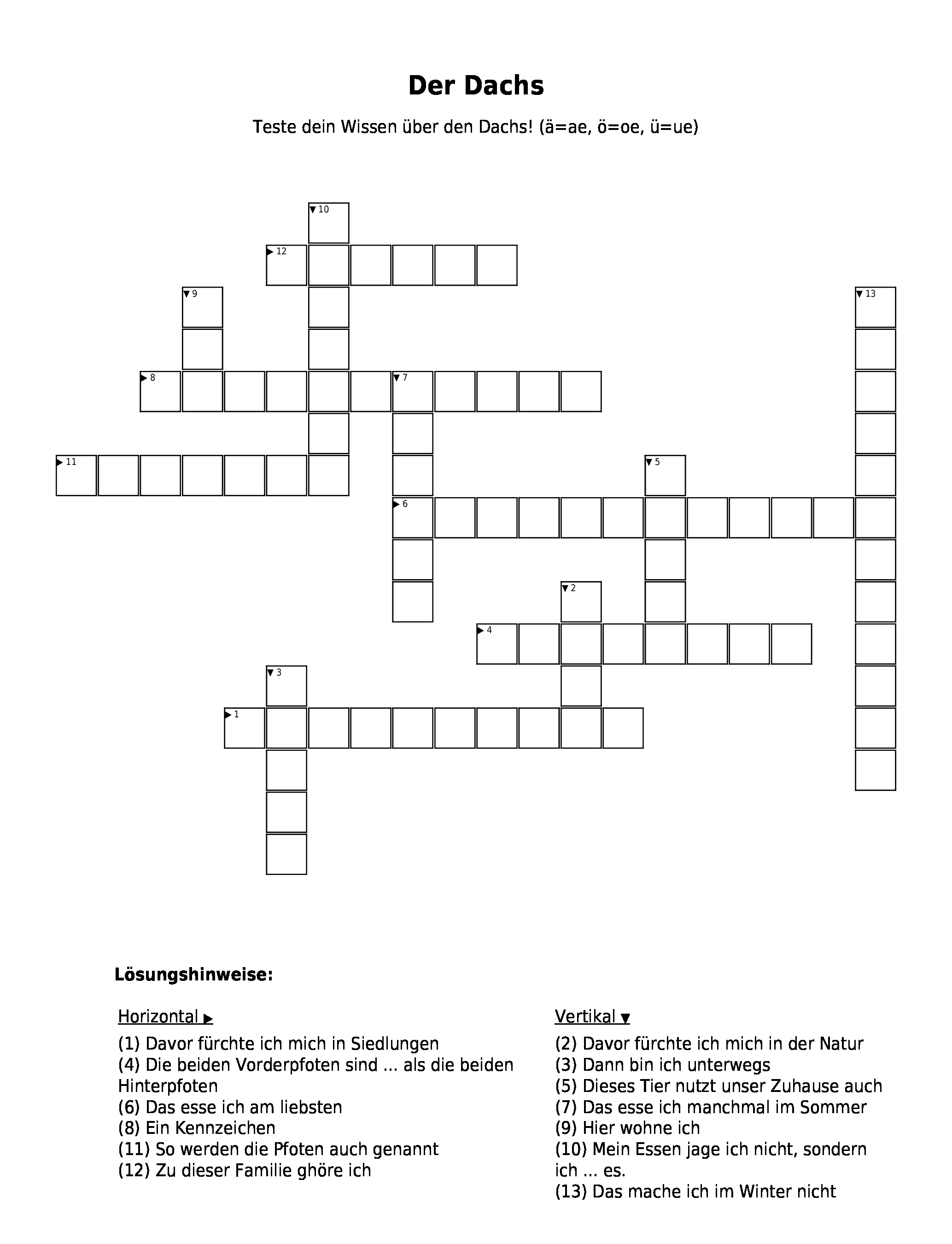 Kreuzworträtsel Net.De